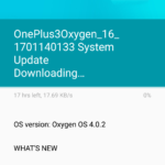 Nougat update in Oneplus 3 in Nepal