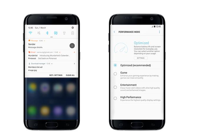 list of Samsung mobiles receiving Nougat update