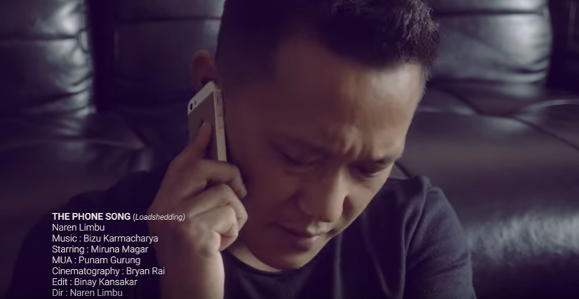 Nepali Lyrics The Phone Song (loadshedding) – Naren Limbu