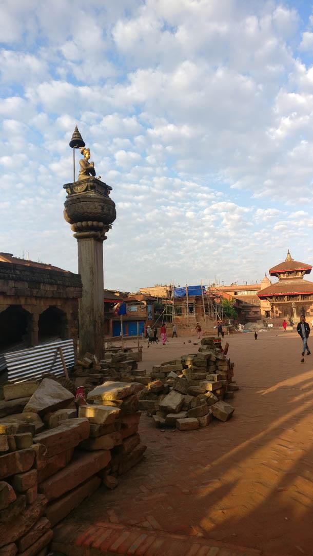 Bhaktapur Durbar Square bhupatindra malla today