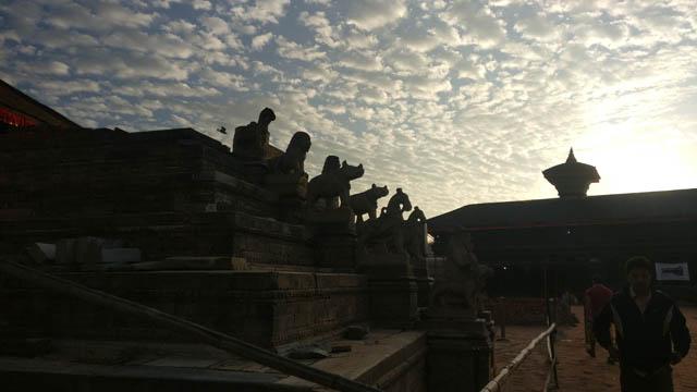 Bhaktapur Durbar Square falcha today