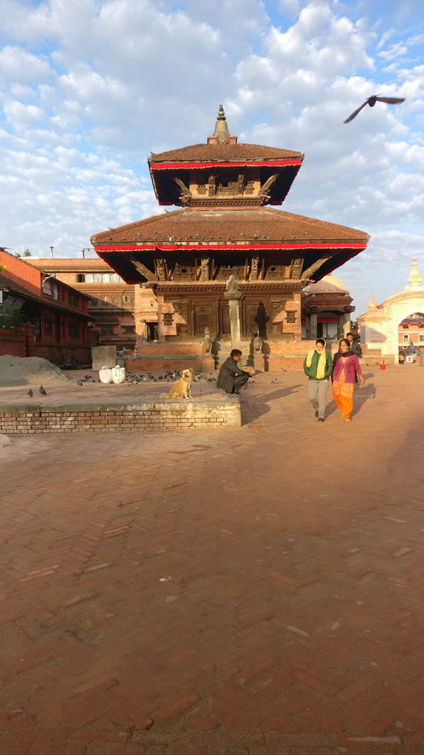 Bhaktapur Durbar Square today temple